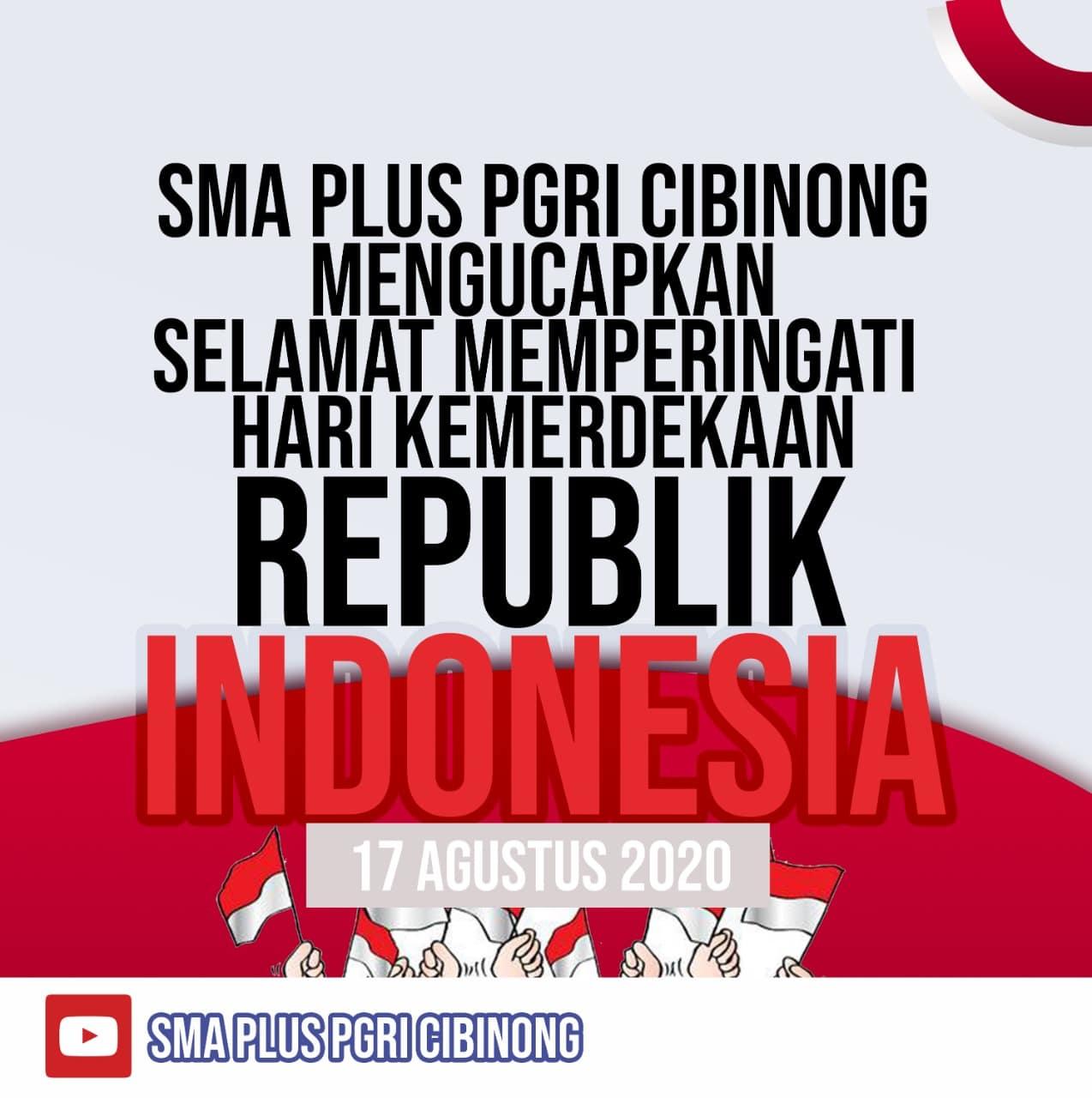 Hut Republik Indonesia Ke 75 Sma Plus Pgri Cibinong